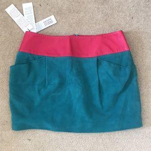 Leather skirt - Lacoste studio